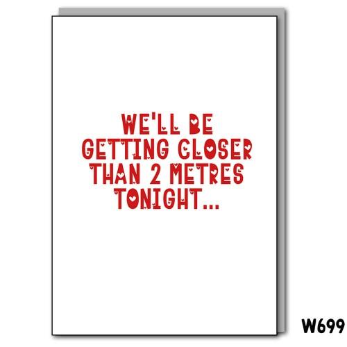 Closer than 2 Metres