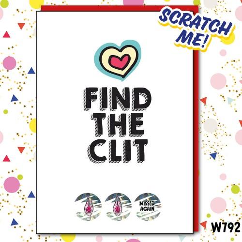 Missed Clit Scratchcard