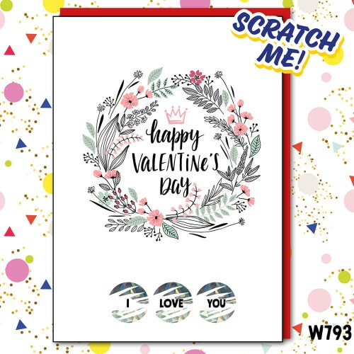 Love You Scratchcard