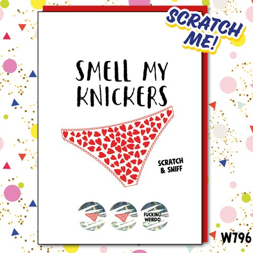Smell Knickers Scratchcard