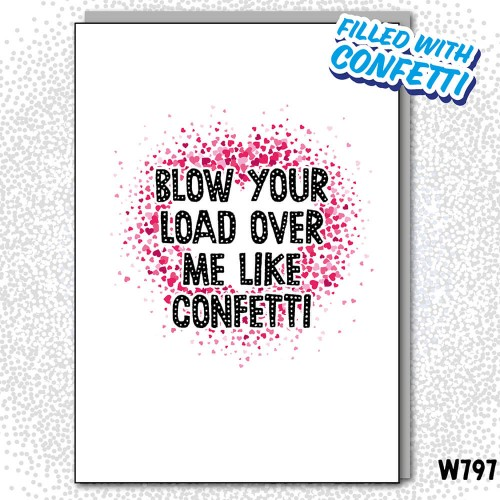 Blow Load Confetti