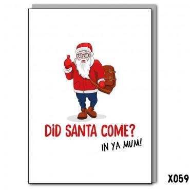 Did Santa Come?
