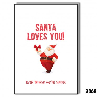 Santa Loves You
