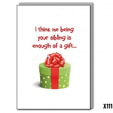 Sibling Gift
