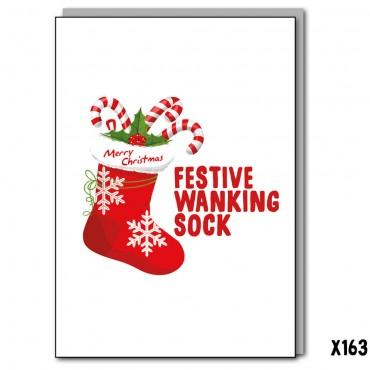 Festive Wanking Sock