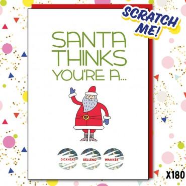 Santa Thinks