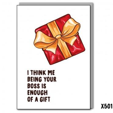 Boss Gift Xmas