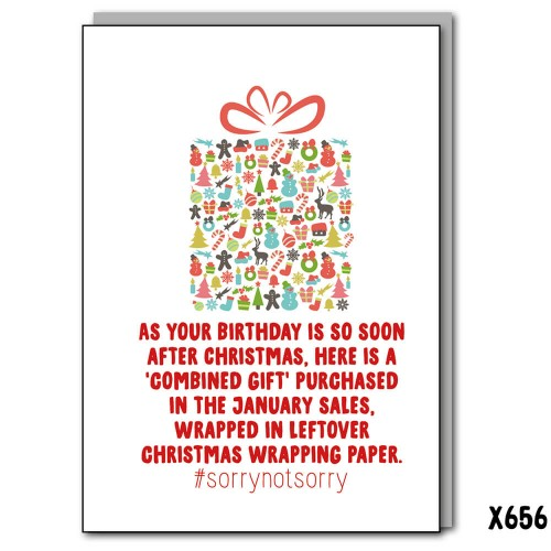 January Birthday Gift