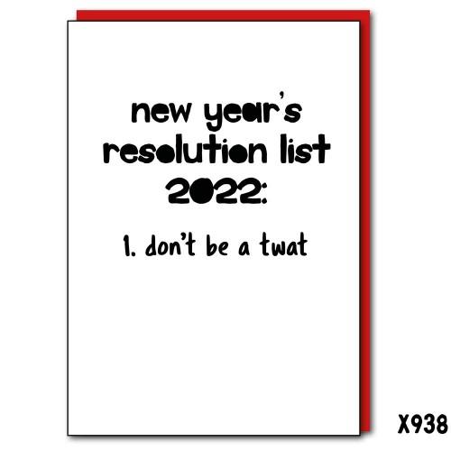 2022 Resolutions Twat