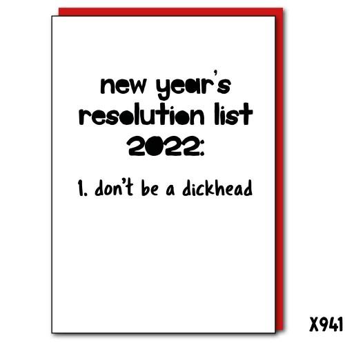 2022 Resolutions Dickhead