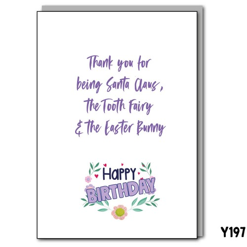 Birthday Easter Bunny