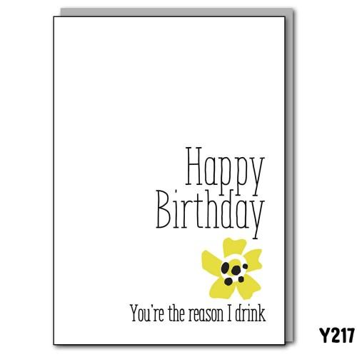Birthday Reason Drink