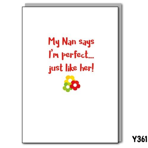 Perfect Nan