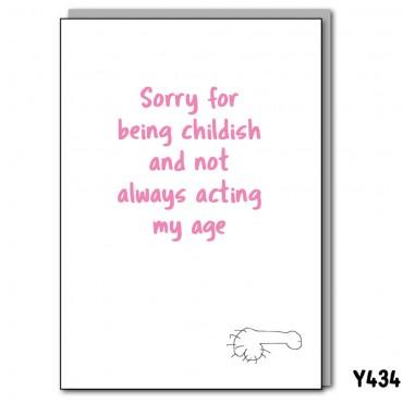 Acting Childish