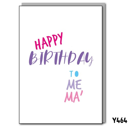 Birthday Me Ma