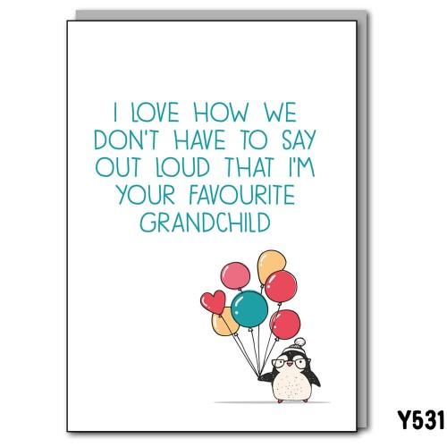Favourite Grandchild