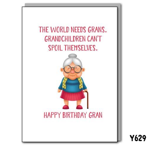 Gran Birthday Spoil