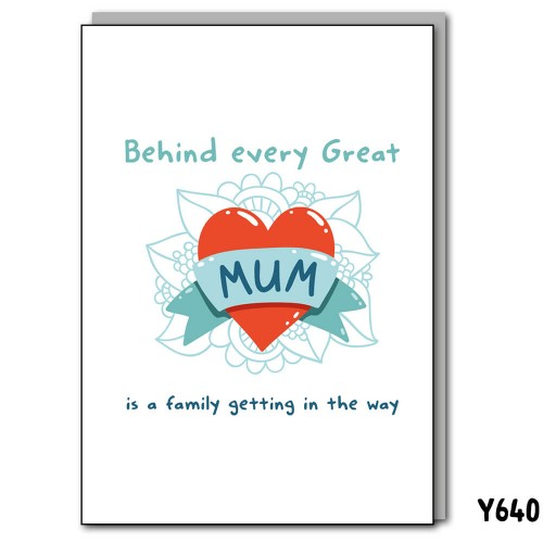 Behind Every Great Mum
