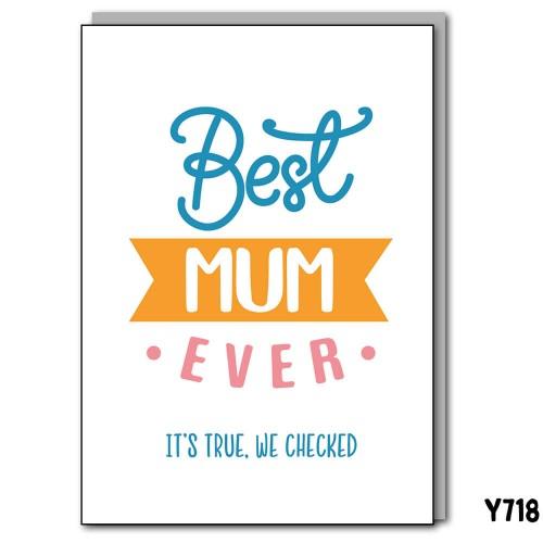 Best Mum Checked