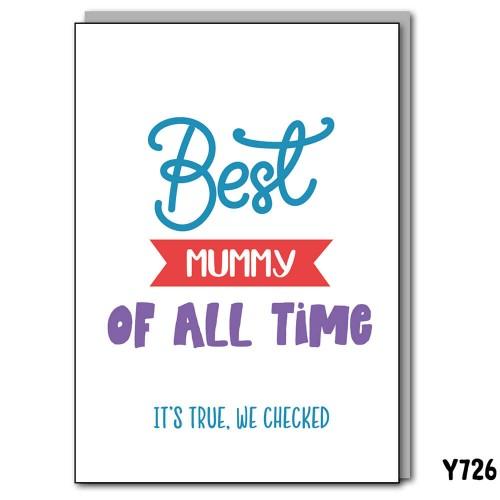 Best Mummy Checked