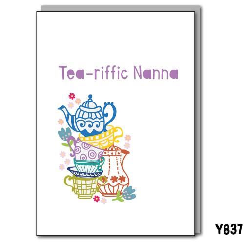Tea-riffic Nanna