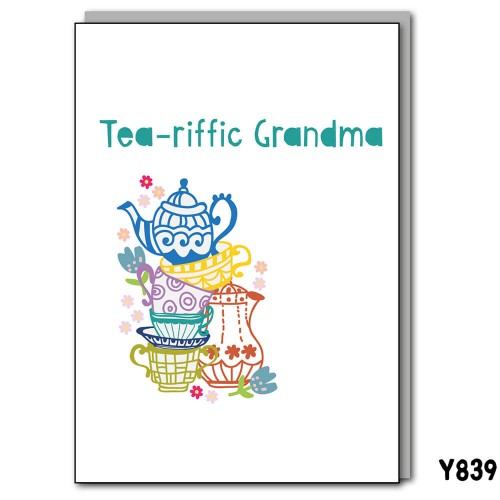 Tea-riffic Grandma
