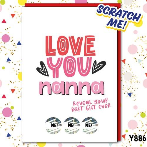 Nanna Best Gift Scratch Card
