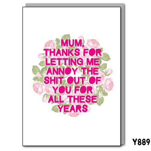 Annoy Shit Mum