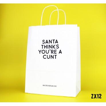 Santa thinks Bag