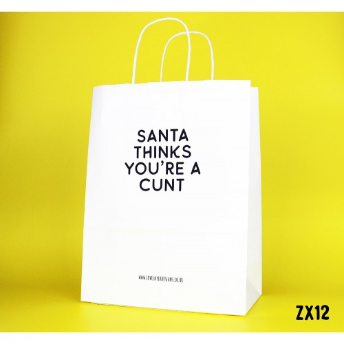 Santa thinks Bag