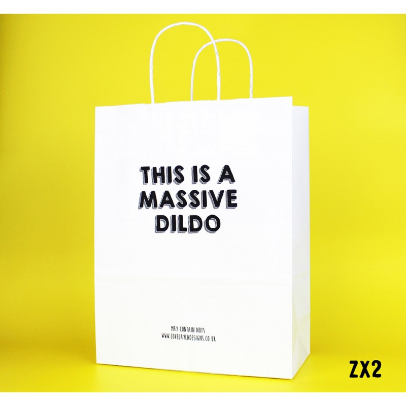 Massive Dildo Gift Bag