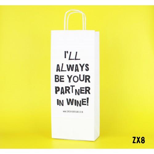 Partner in Wine Bag
