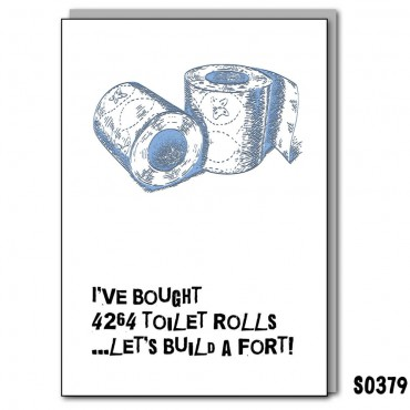 Toilet Roll Fort