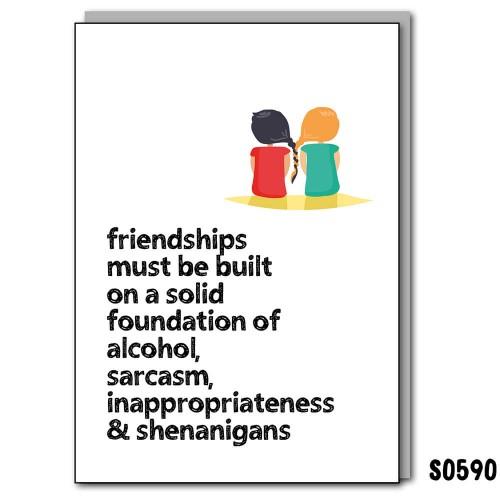 Friendship Built