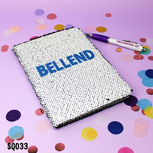 Bellend Sequin Notebook