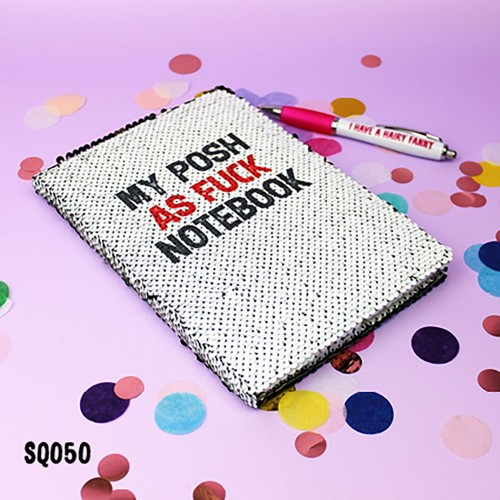 Posh Sequin Notebook