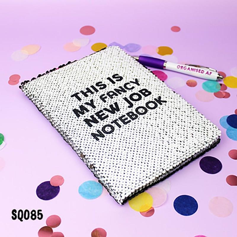 Fancy New Sequin Notebook