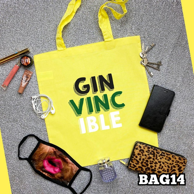 Ginvincible Tote Bag