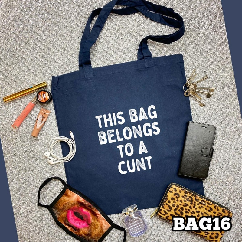 Belongs Cunt Tote Bag