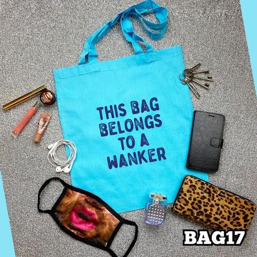 Belongs Wanker Tote Bag