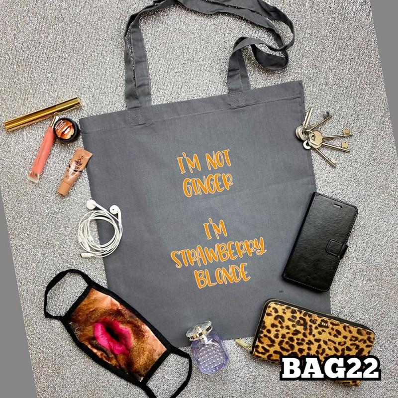 Strawberry Blonde Tote Bag