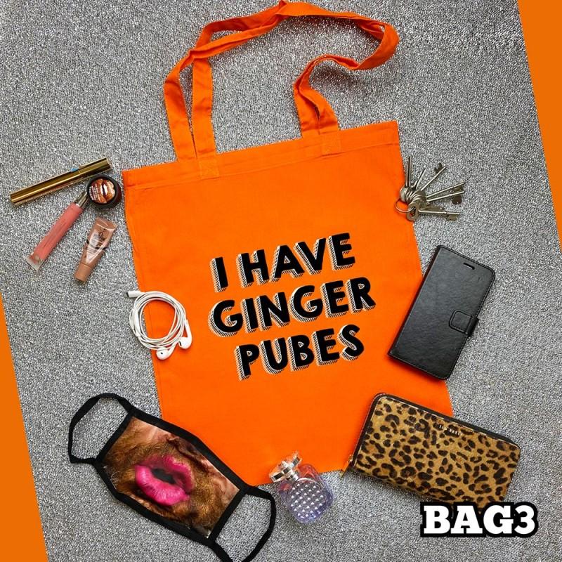 Ginger Pubes Tote Bag