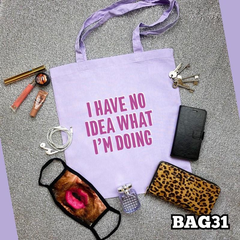 No Idea Tote Bag