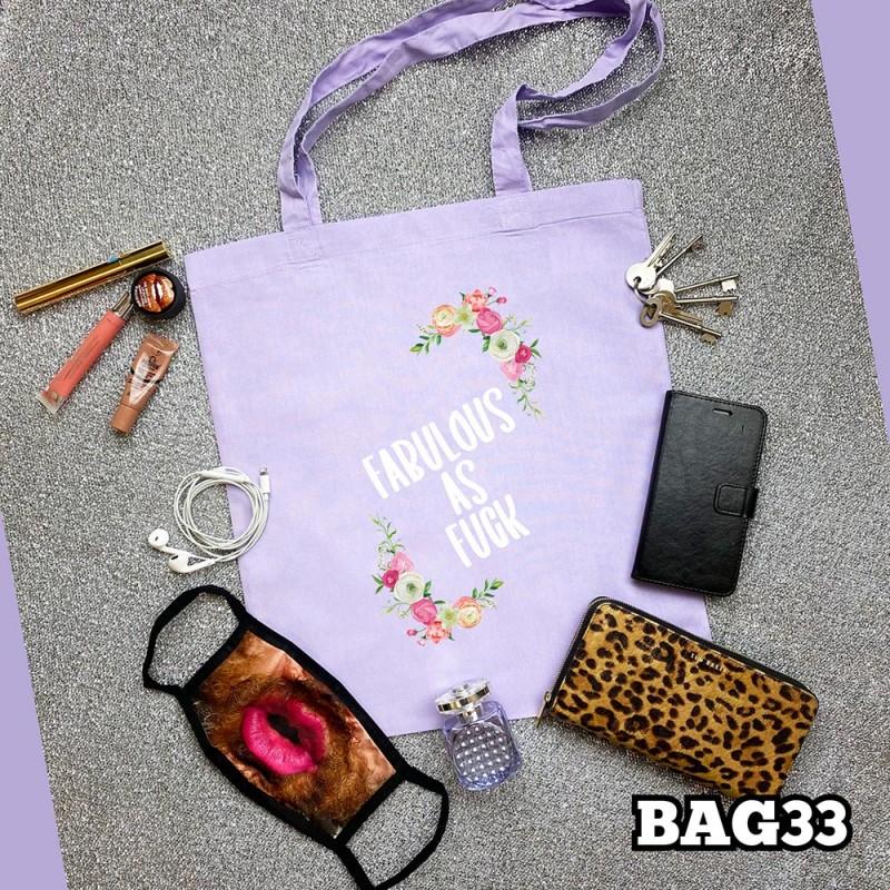 Fabulous as Fuck Tote Bag