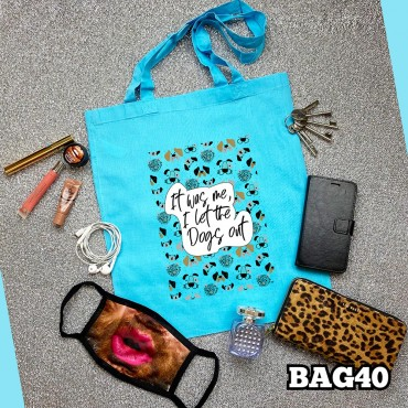 Dogs Out Tote Bag