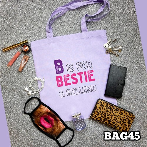 B for Bestie Tote Bag