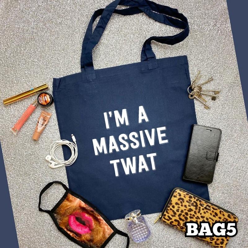 Massive Twat Tote Bag