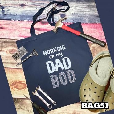 Dad Bod Tote Bag