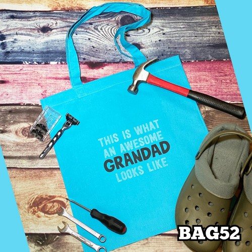 Awesome Grandad Tote Bag