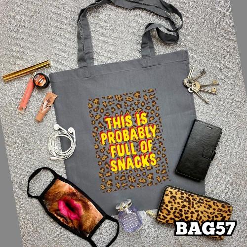 Snacks Tote Bag